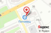 Схема проезда до компании Фрязинское Информационное Агентство Московской Области во Фрязино