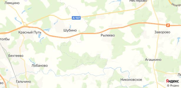 Нащёкино на карте