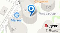 Компания Акватория на карте