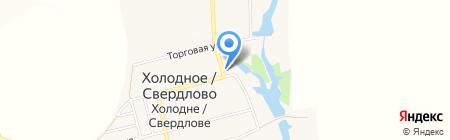 Продуктовый магазин на карте Свердлово