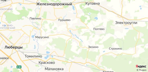 Русавкино-Поповищино на карте