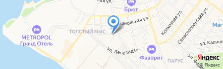 Адвокатский кабинет Гавриков А.А. на карте Геленджика
