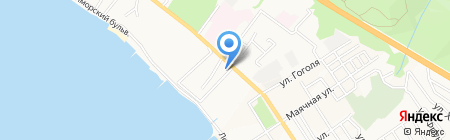 МиР САЛЮТОВ на карте Геленджика