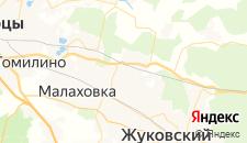 Отели города Родники на карте