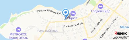 Геленджик-Недвижимость на карте Геленджика