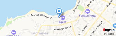 Управление Федеральной службы РФ по контролю за оборотом наркотиков на карте Геленджика