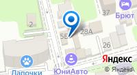 Компания ЮниАвто на карте