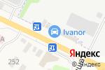 Схема проезда до компании Vianor в Быково