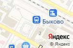 Схема проезда до компании Банкомат, Банк ВТБ 24, ПАО в Быково