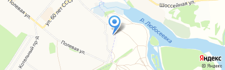 ЭлектронЛаб на карте Фрязино