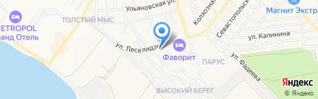РЕСО-Гарантия ОСАО на карте Геленджика