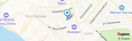 Детский сад №31 на карте Геленджика