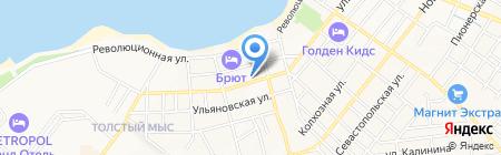 Мини-гостиница на карте Геленджика
