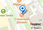 Украинский дворик на карте