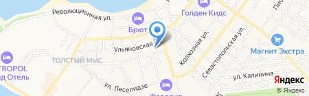 Средняя общеобразовательная школа №2 им. адмирала Ушакова на карте Геленджика