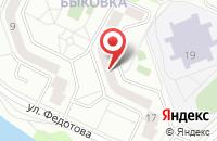 Схема проезда до компании Авиан в Жуковском
