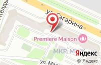 Схема проезда до компании Н.С. Клиник в Жуковском