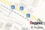 Схема проезда до компании Продуктовый магазин в Быково