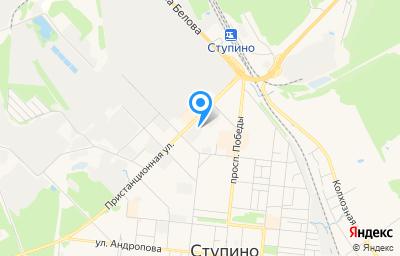 Местоположение на карте пункта техосмотра по адресу Московская обл, г Ступино, ул Пристанционная, д 7А