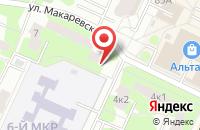 Схема проезда до компании Детская библиотека №6 в Жуковском