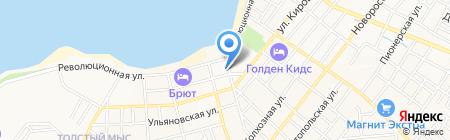 Салон автопроката на карте Геленджика