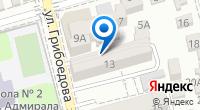 Компания МаНяня на карте