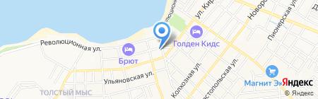 Муниципальная страховая компания г. Краснодара на карте Геленджика