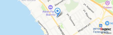 Макаренко и Компания на карте Геленджика