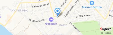 Совкомбанк на карте Геленджика