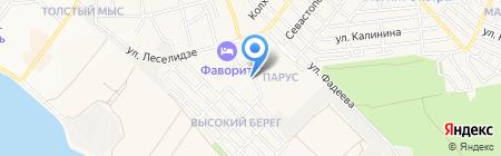 ФАКТОР на карте Геленджика