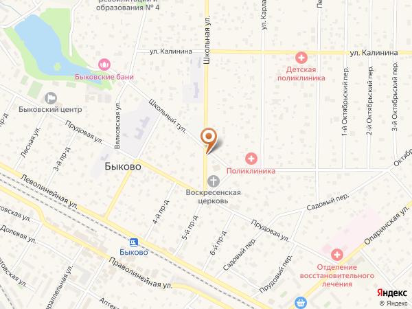 Остановка Школьный тупик (Московская область)