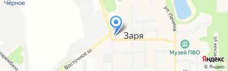 Киоск фастфудной продукции на карте Балашихи