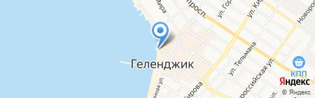 БЛАГОДАРНЫЙ ГЕЛЕНДЖИКЪ на карте Геленджика