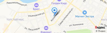 Неал на карте Геленджика