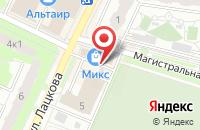 Схема проезда до компании Твой День в Жуковском