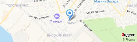 Детский сад №34 на карте Геленджика