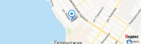 Бон-салон на карте Геленджика