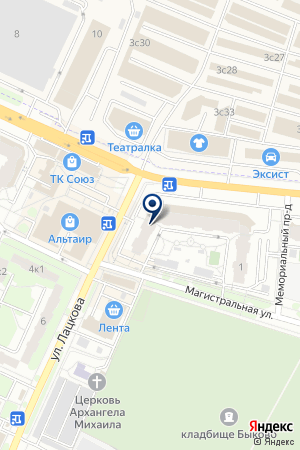АТЕЛЬЕ ПО РЕМОНТУ ОДЕЖДЫ ПРОФИЛЬ-МЛ на карте Жуковского