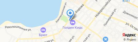 Банкомат Бинбанк на карте Геленджика
