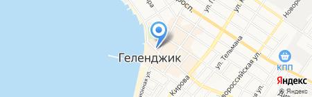 АЛМАЗ-ХОЛДИНГ на карте Геленджика