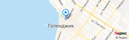 Геленджикский городской суд на карте Геленджика