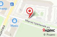 Схема проезда до компании Микс+ в Жуковском
