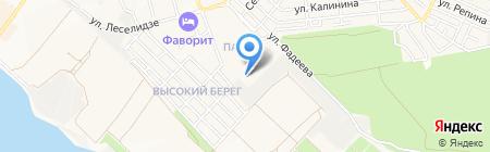 Средняя общеобразовательная школа №5 на карте Геленджика