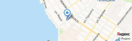 Строй Град на карте Геленджика
