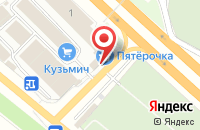 Схема проезда до компании РуфМонтажСервис в Островцах