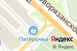 Схема проезда до компании Пятерочка в Михайловской Слободе