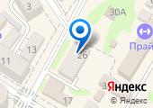 Анфиса на карте