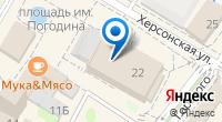 Компания Буревестник на карте