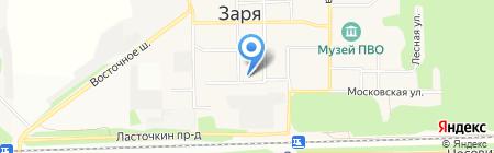Ангелы на карте Балашихи