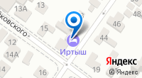 Компания Иртыш на карте